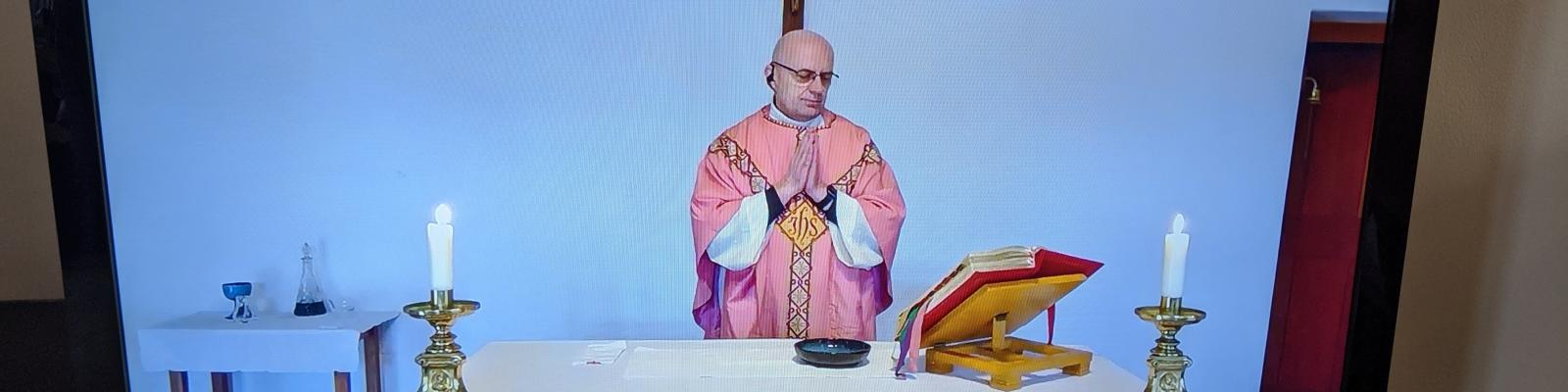 Fr Zbigniew Live streaming mass