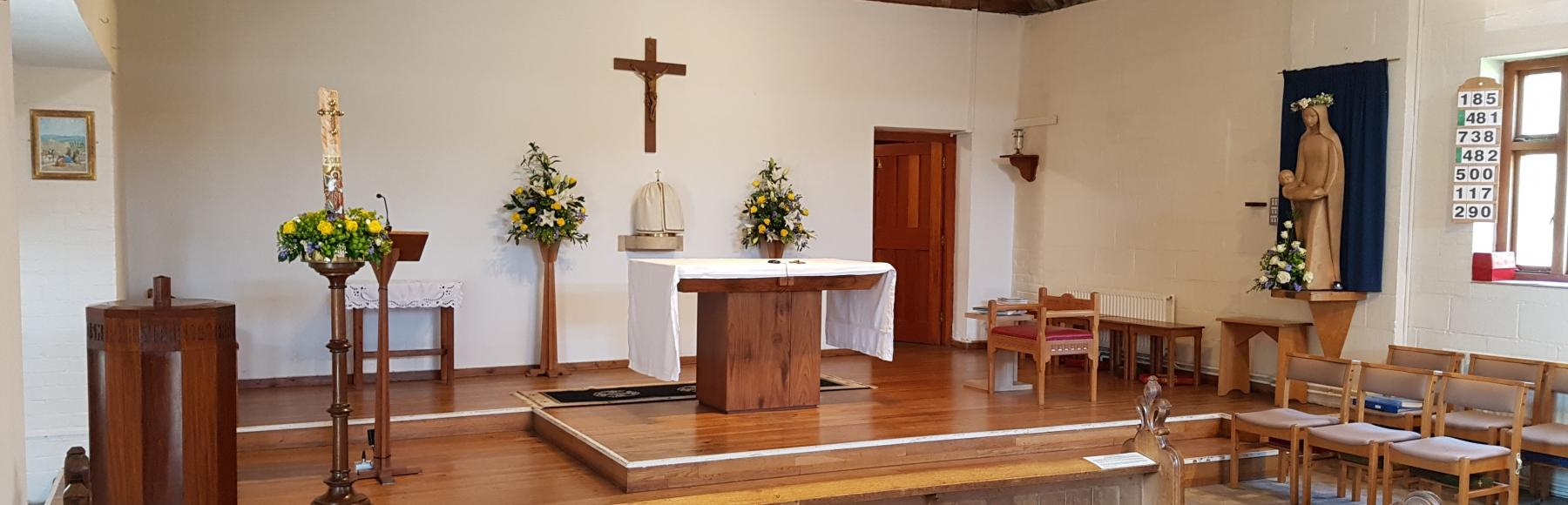 St Francis de Sales Church Altar